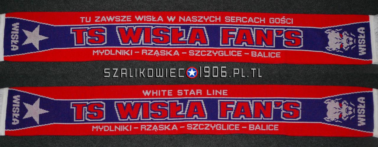 Szalik Wisła Kraków Mydlniki Rząska Szczyglice Balice