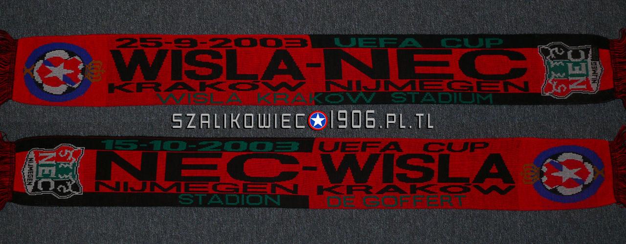 Szalik Wisła Kraków NEC Nimegen 2003