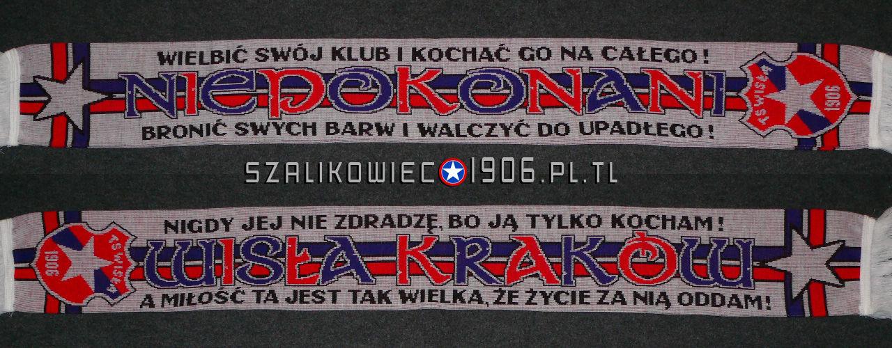 Szalik Niepokonani Wisła Kraków