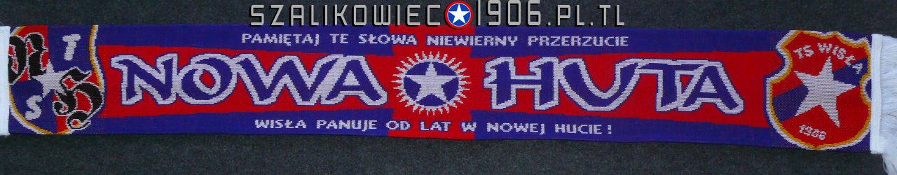 Szalik Wisła Kraków Nowa Huta Wzór 3