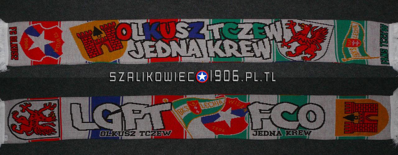 Szalik Wisła Kraków Olkusz Tczew Wzór 1