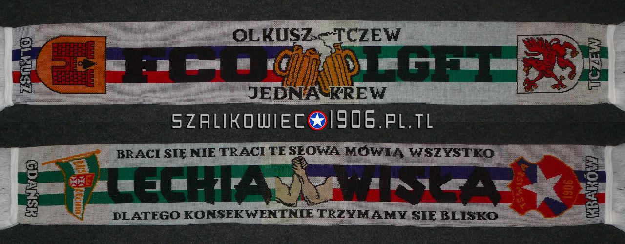 Szalik Wisła Kraków Olkusz Tczew Wzór 2