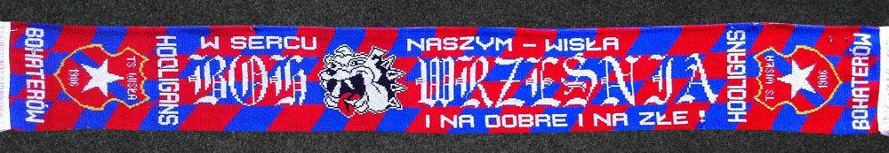 Szalik Bohaterów Września Wisła Kraków