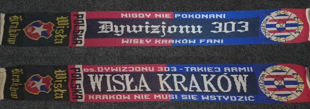 Szalik Dywizjonu 303 Wisła Kraków