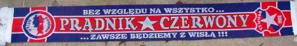 Szalik Prądnik Czerwony Wisła Kraków