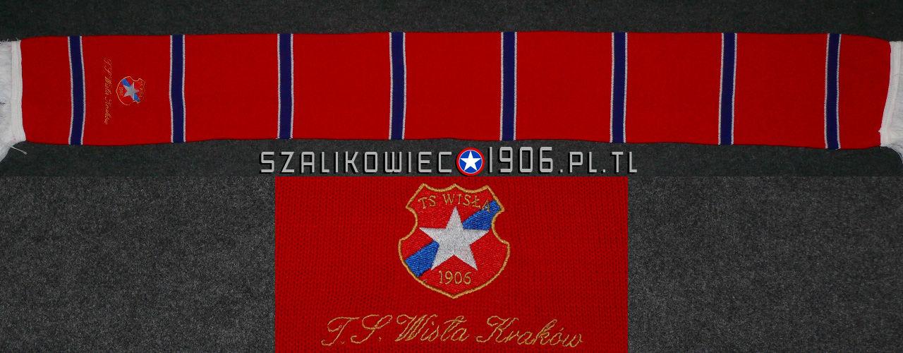 Szalik Pasiak TS Wisła Kraków Czerwony