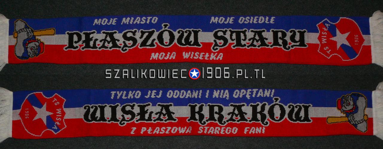 Szalik Wisła Kraków Płaszów Stary Wzór 2