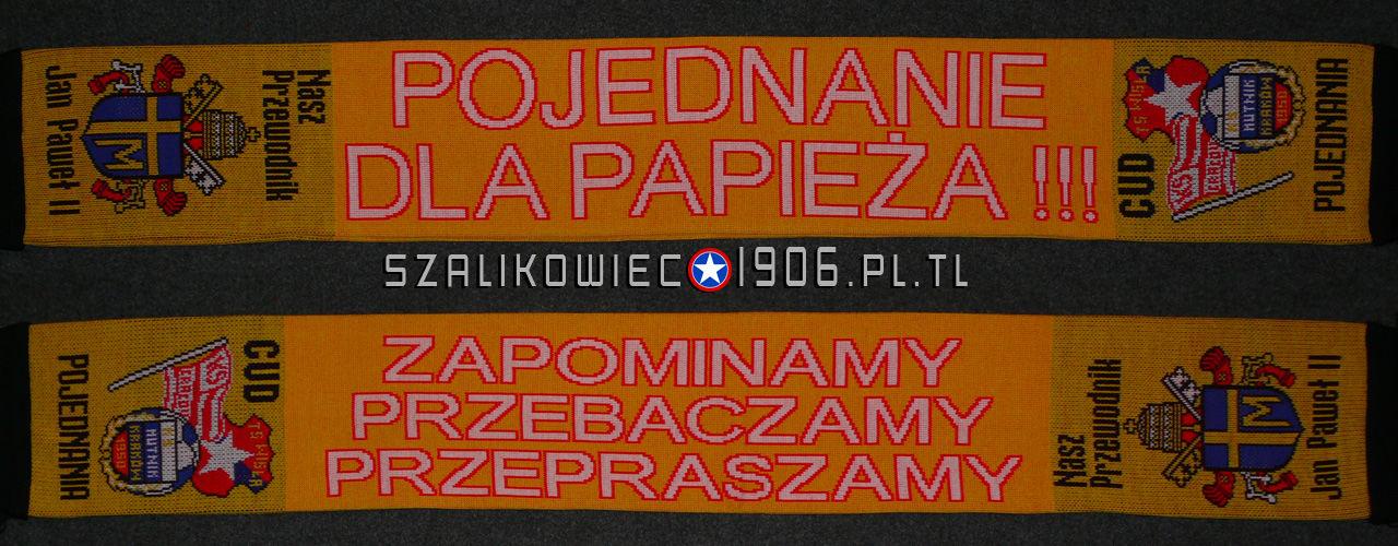 Szalik Pojednanie Dla Papieza Wisla Krakow