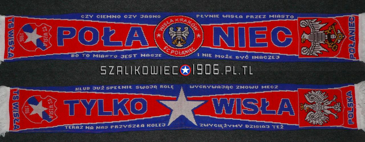 Szalik Wisła Kraków Połaniec Wzór 2