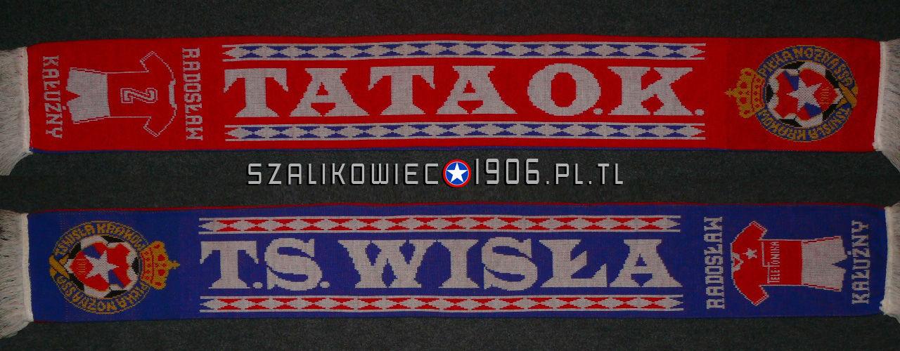 """Szalik Radosław Kałużny """"Tata"""" Wisła Kraków"""