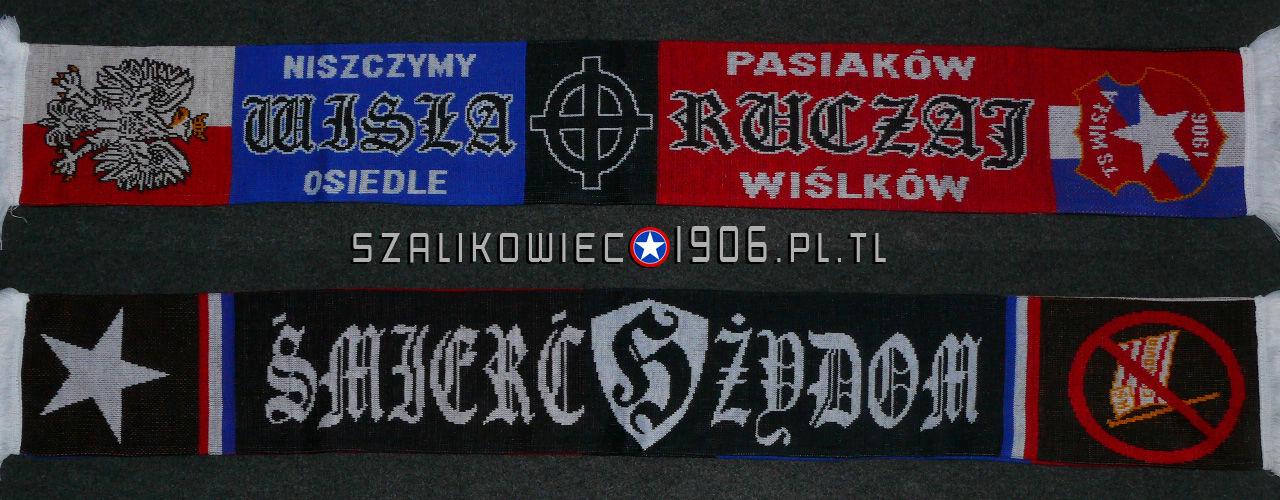 Szalik Wisła Kraków Ruczaj Wzór 2