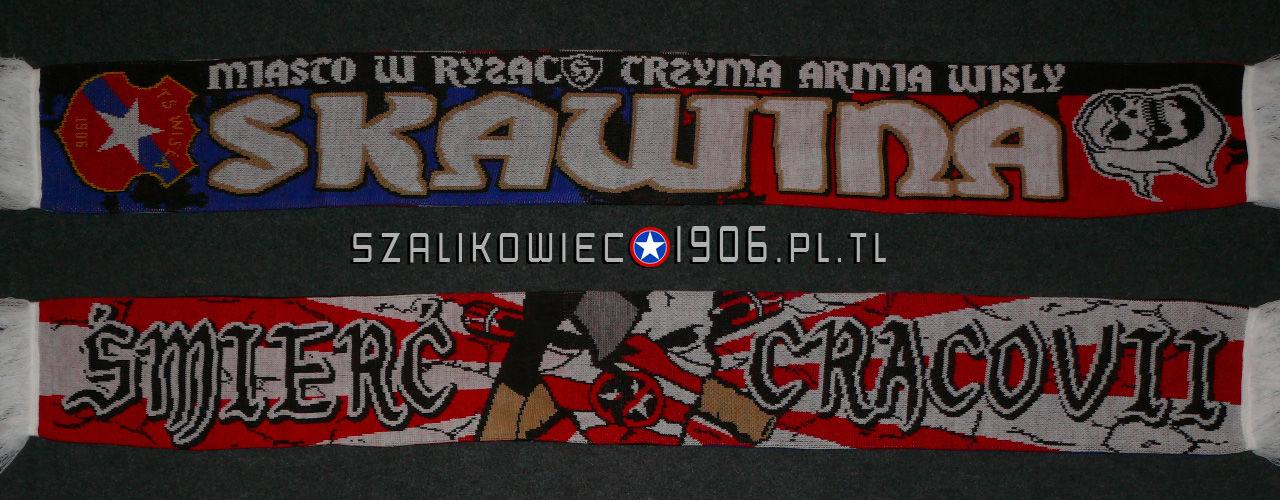 Szalik Wisła Kraków Skawina Wzór 2