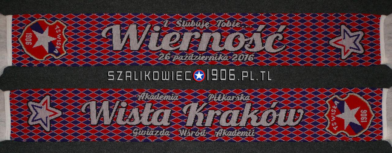 Szalik Ślubowanie Wisla Krakow