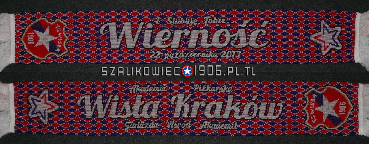Szalik Wisła Kraków Ślubowanie 2017 Akademia Piłkarska