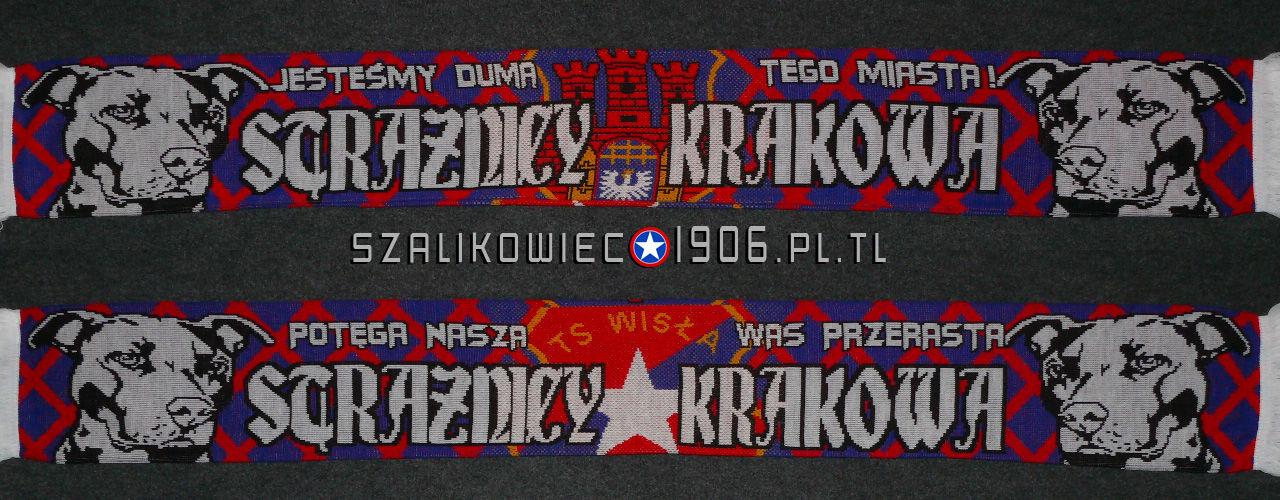 Szalik Strażnicy Krakowa Wisła Kraków