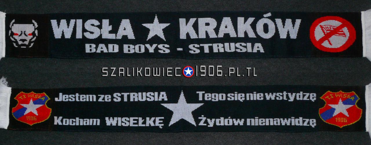 Szalik Wisła Kraków Strusia Wzór 1