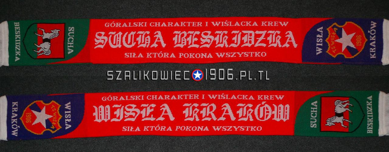 Szalik Wisła Kraków Sucha Beskidzka Wzór 1