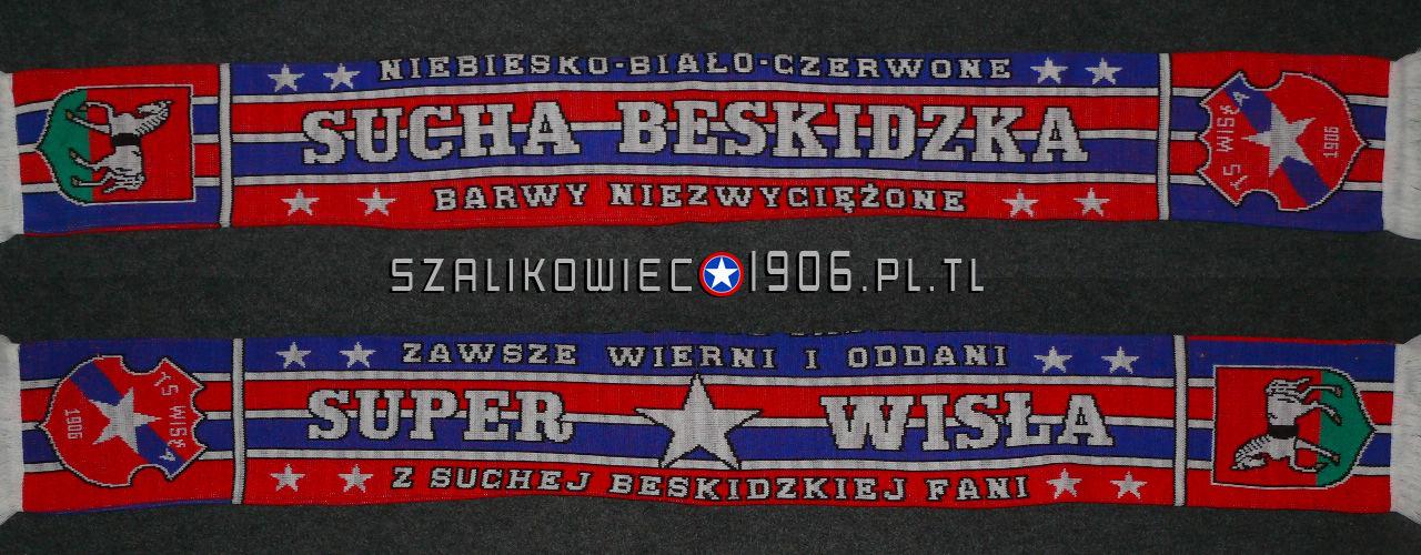 Szalik Wisła Kraków Sucha Beskidzka Wzór 2