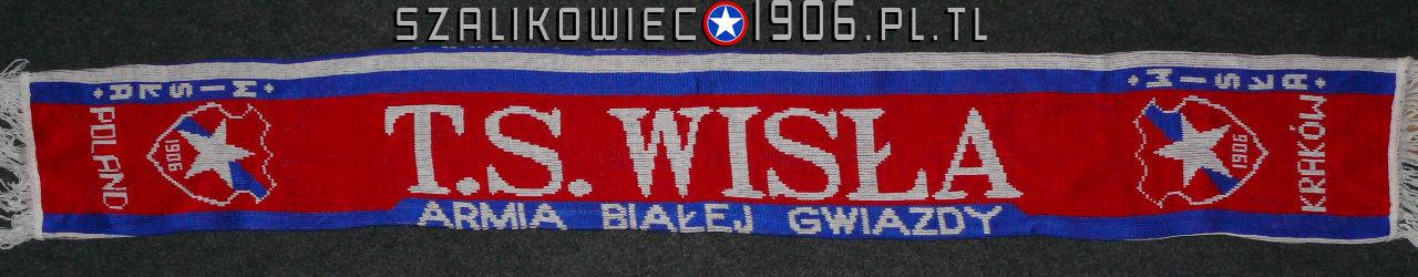 Szalik TS Wisła Armia Białej Gwiazdy