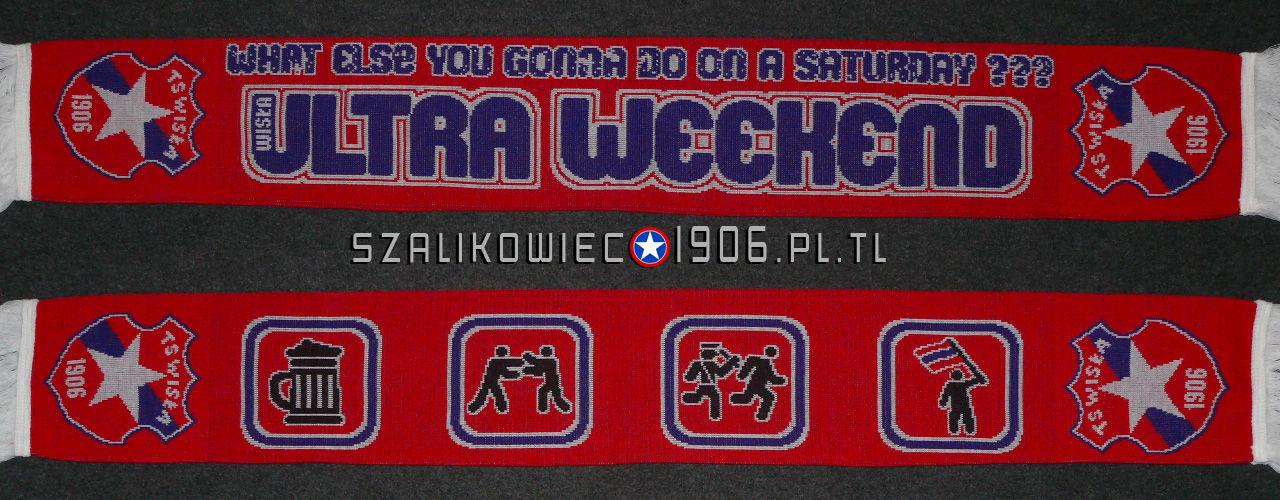 Szalik Ultra Weekend Wisła Kraków