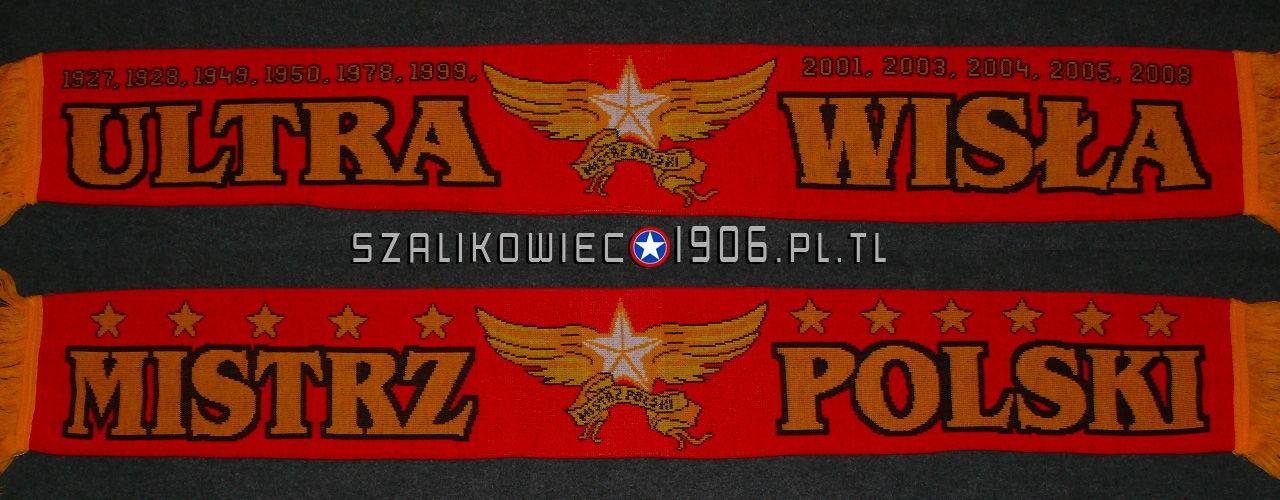 Szalik Ultra Wisła Mistrz Polski 2008