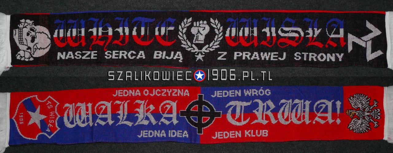 Szalik White Wisła Wisła Kraków