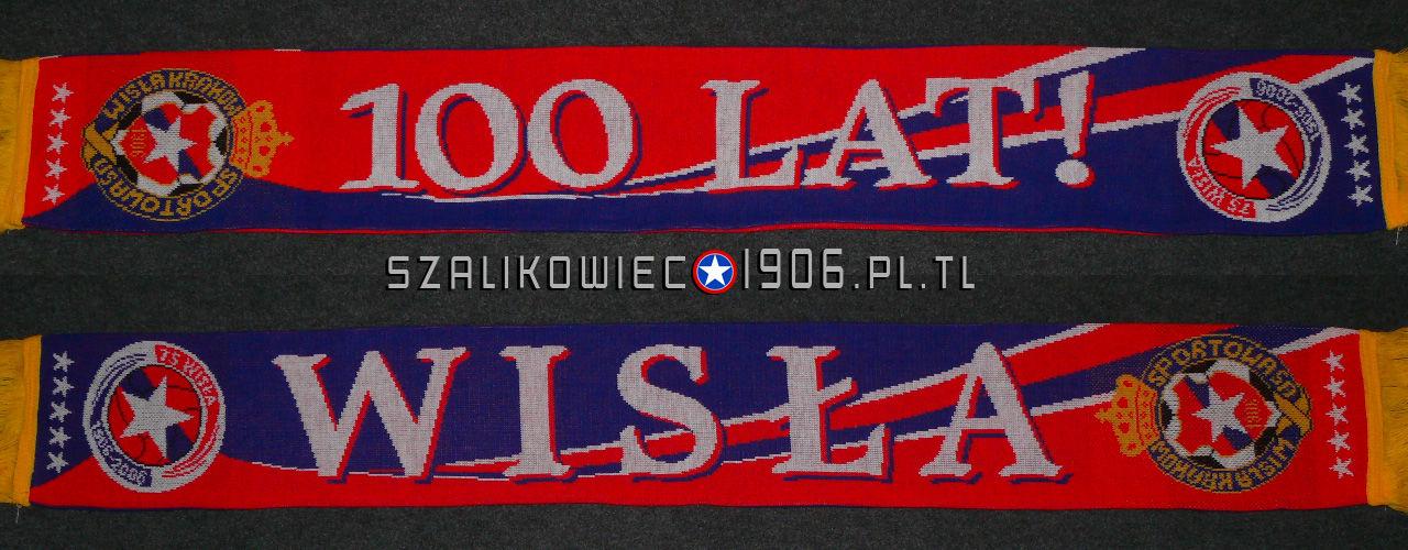Szalik 100 Lat TS Wisła Kraków