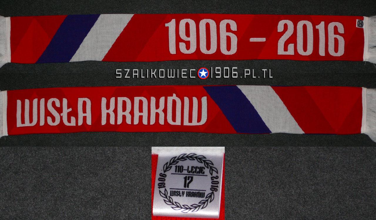 Szalik 110 Lat TS Wisła Kraków