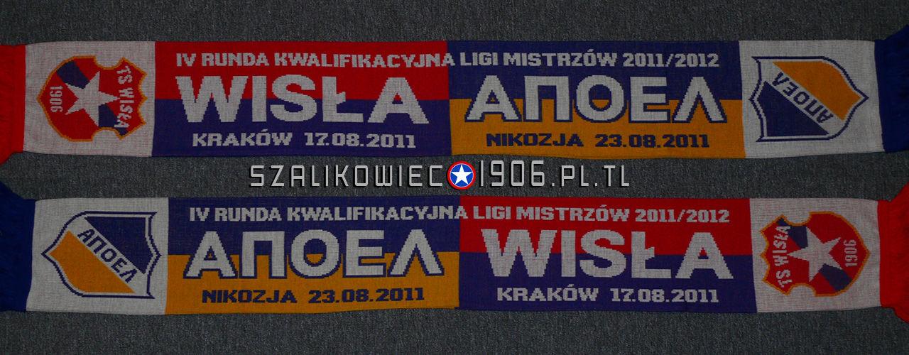 Szalik Wisła Kraków APOEL Nikozja