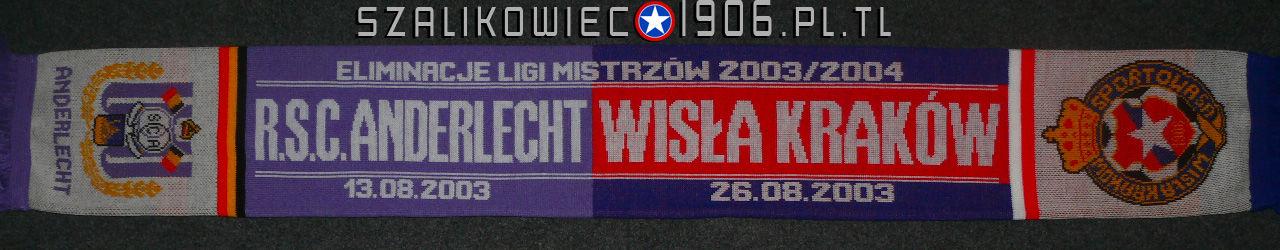 Szalik Wisła Kraków Anderlecht Bruksela