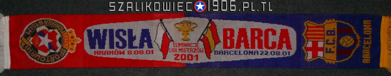 Szalik Wisła Kraków FC Barcelona 2001