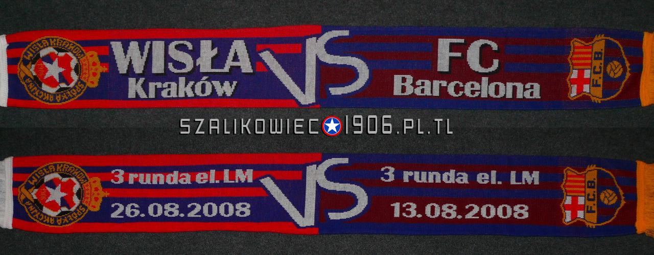 Szalik Wisła Kraków FC Barcelona