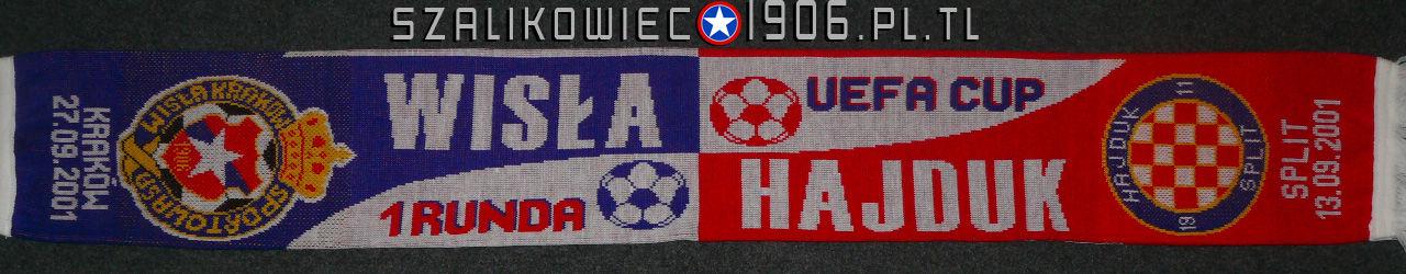 Szalik Wisła Kraków Hajduk Split 2001