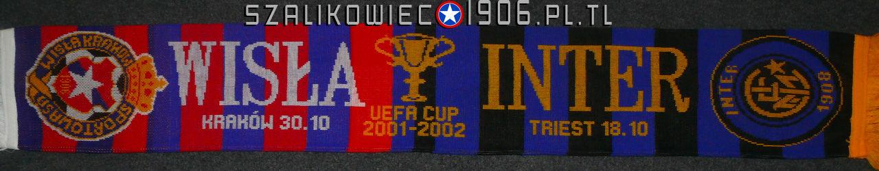 Szalik Wisła Kraków Inter Mediolan 2001