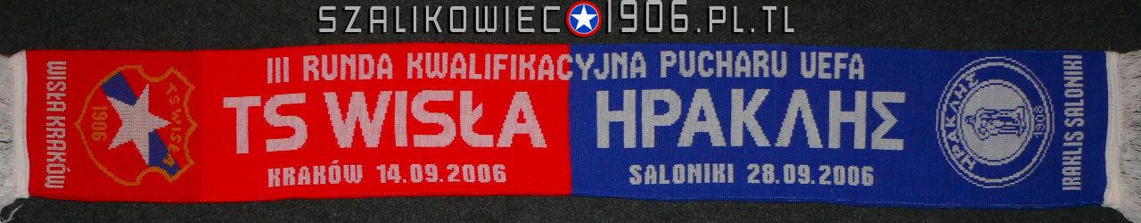 Szalik Wisła Kraków Iraklis Saloniki