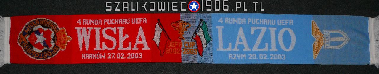 Szalik Wisła Kraków Lazio Rzym 2003