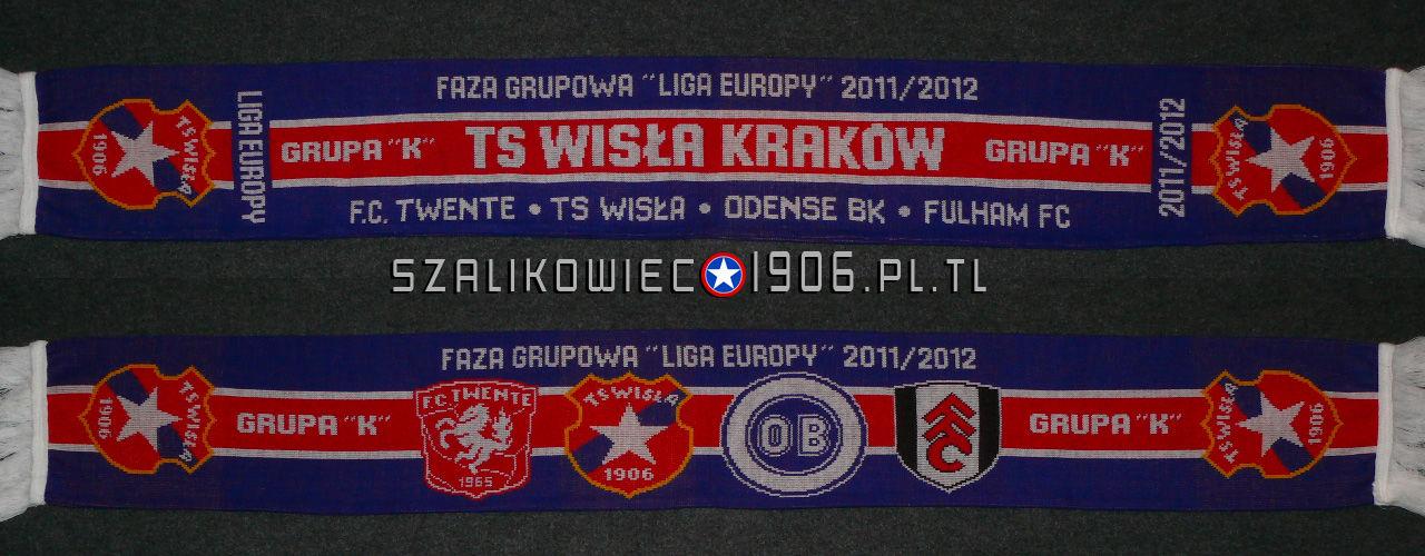 Szalik Wisła Kraków Faza Grupowa Ligi Europy