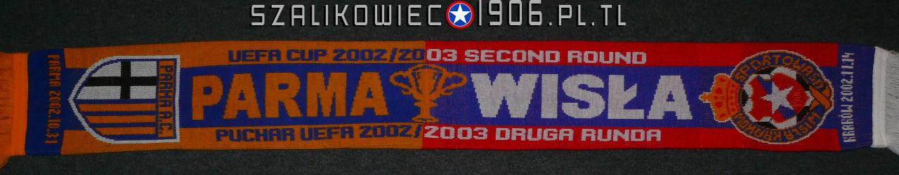 Szalik Wisła Kraków AC Parma 2002