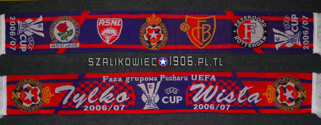 Szalik Wisła Kraków Faza Grupowa Pucharu UEFA
