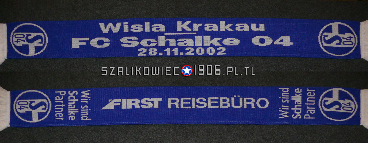 Szalik Wisła Kraków Schalke Gelsenkirchen 2002