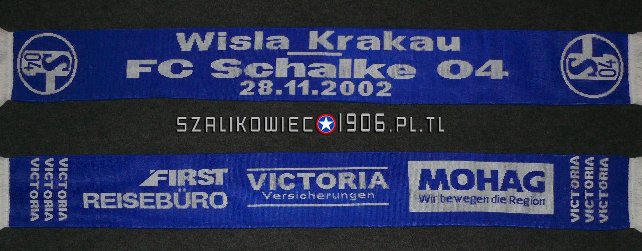 Szalik Wisła Kraków Schalke Gelsenkirchen Wisła Kraków 2001