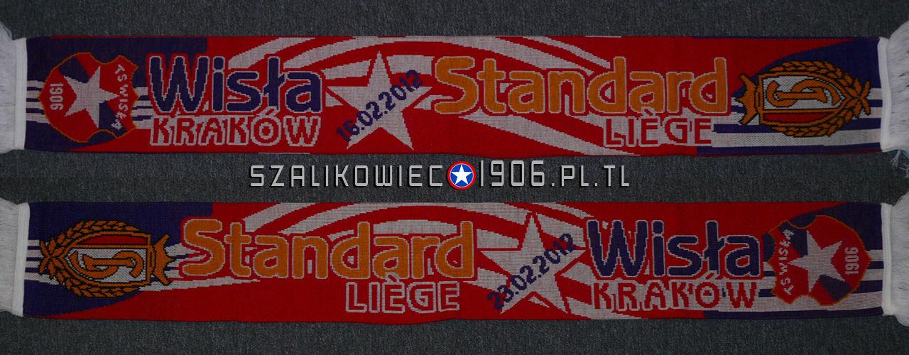 Szalik Wisła Kraków Standard Liege