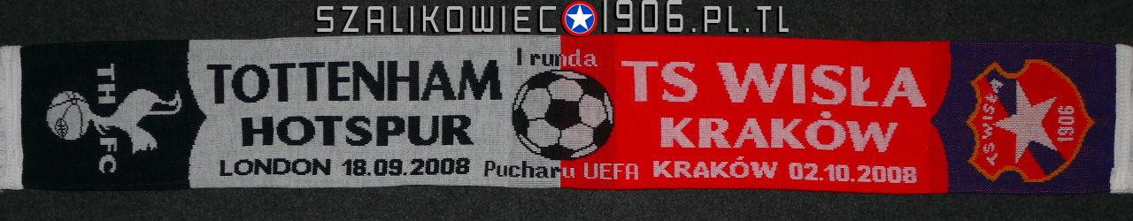 Szalik Wisła Kraków Tottenham Londyn Wzór 1