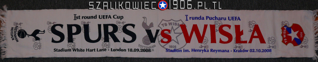 Szalik Wisła Kraków Tottenham Londyn Wzór 3