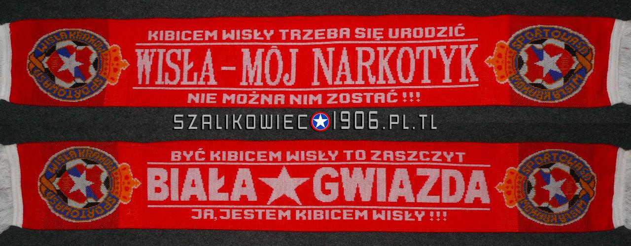 Szalik Mój Narkotyk Wisła Kraków