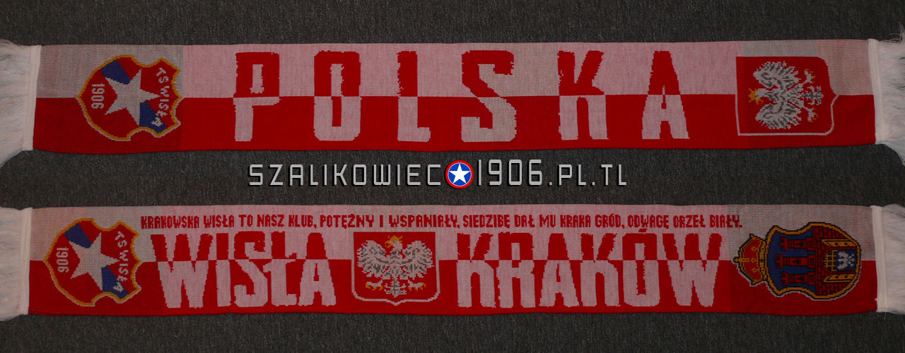 Szalik Wisła Kraków Polska
