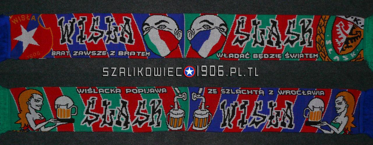 Szalik Wisła Kraków Śląsk Wrocław