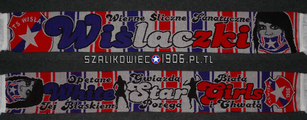 Szalik Wiślaczki Wisła Kraków