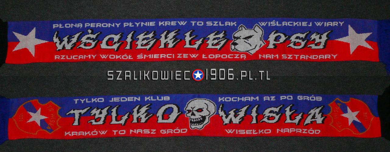 Szalik Wściekłe Psy Wisła Kraków