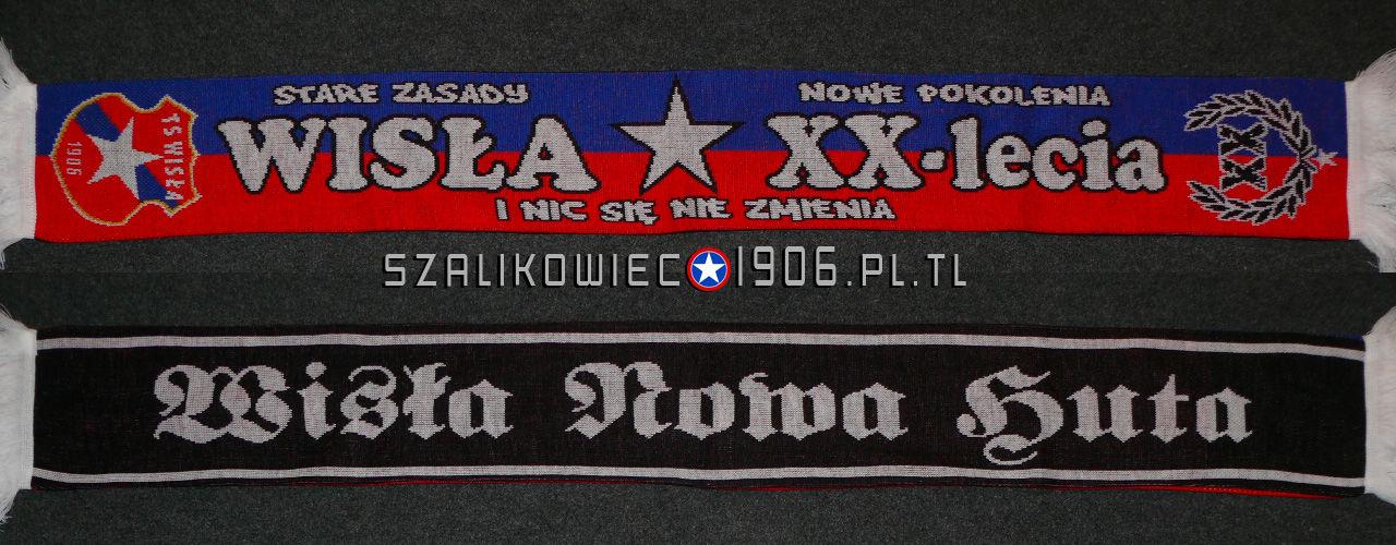Szalik Wisła Kraków XX  Lecia